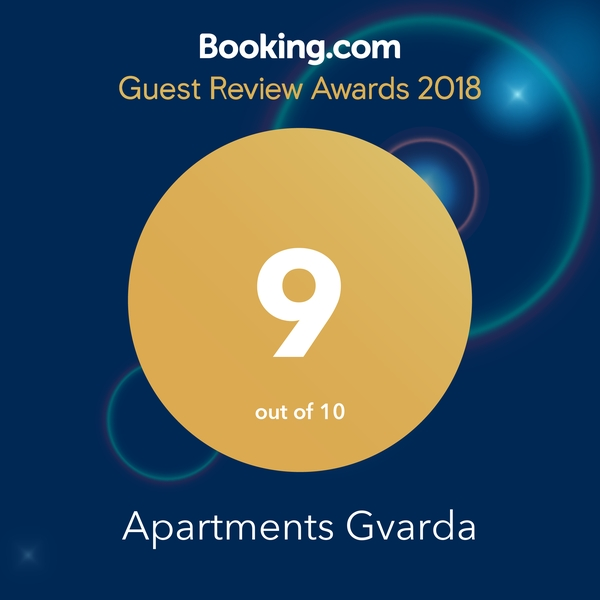 Booking guest awards 2018
